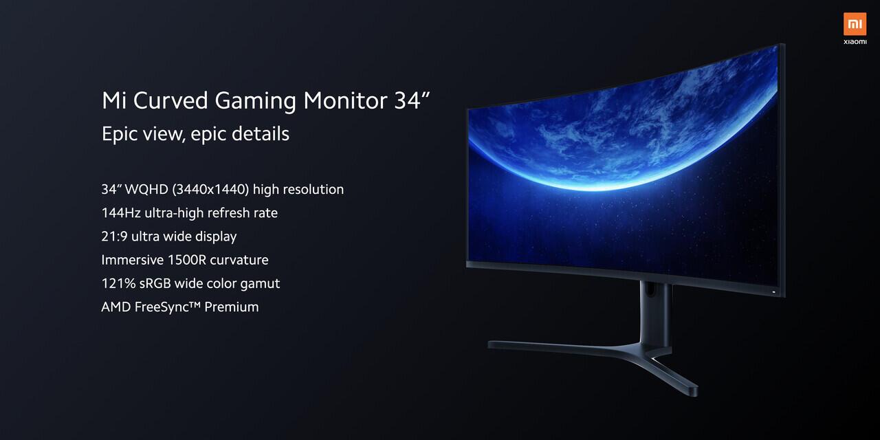 Sensasi Luar Biasa Monitor Gaming Curved Dari Xiaomi