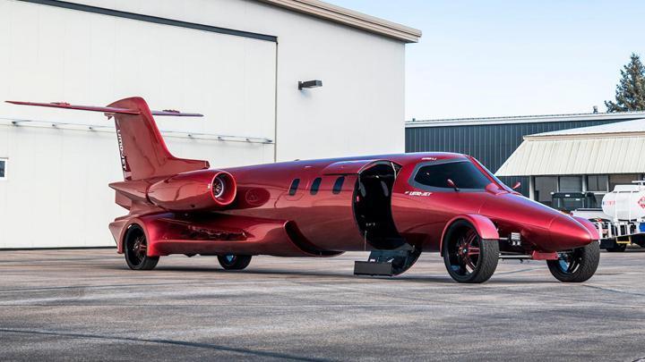 Learmousine - Jet Pribadi Mewah yang Tidak Bisa Terbang
