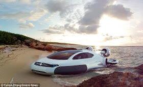 Mobil Dapat Berjalan di Air Memberikan 3 Kelebihan, Bahkan Anti Tsunami