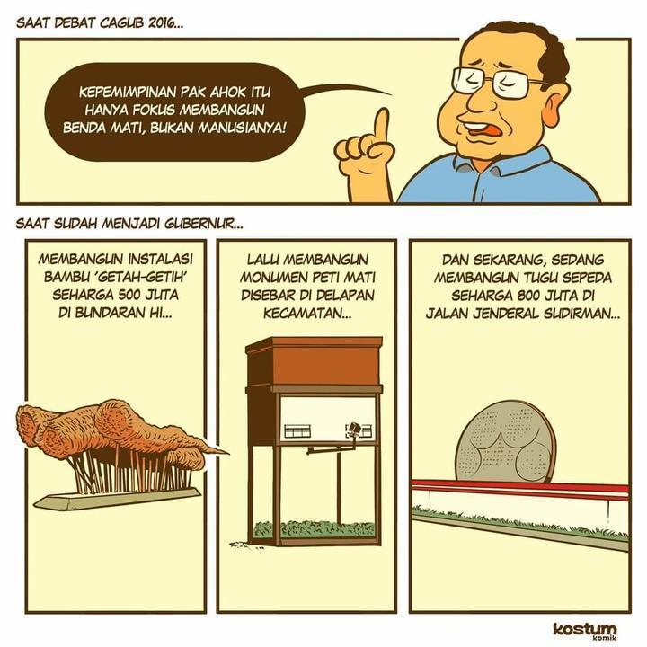 Tugu Sepeda Rp 800 Juta di DKI, Emil Salim: Mengapa Tak Utamakan Pendidikan