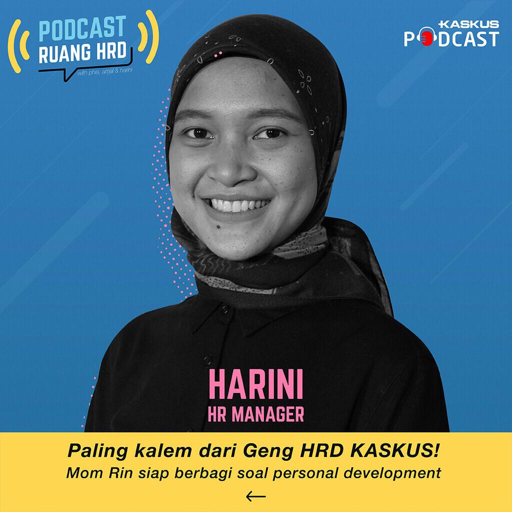 Kenalan Dulu Yuk Sama HRD KASKUS di Podcast Ruang HRD!