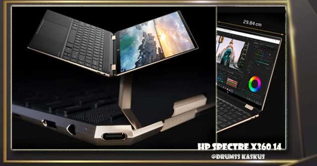 HP Spectre x360 14, PC Berbasis Platform Intel® Evo™ dengan Aspek Rasio Layar 3:2