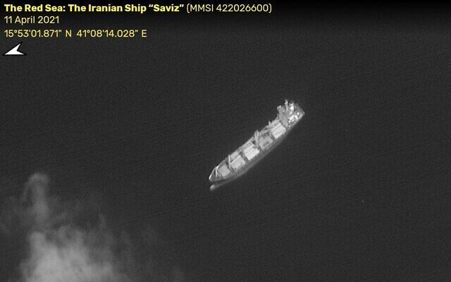 "Mission Failed - Saat Kapal ""Mata-Mata"" Iran Terkena Ranjau Israel di Laut Merah"