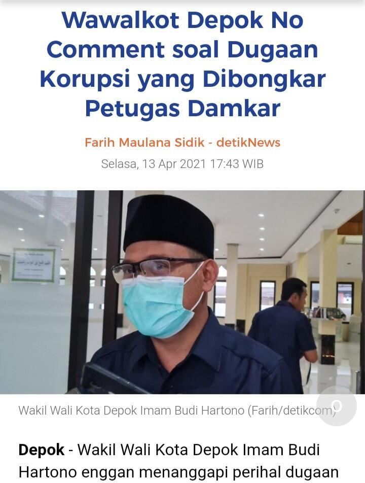 Colek Jokowi, Sandi Damkar 'Pembongkar Korupsi' Diminta Datang ke KSP