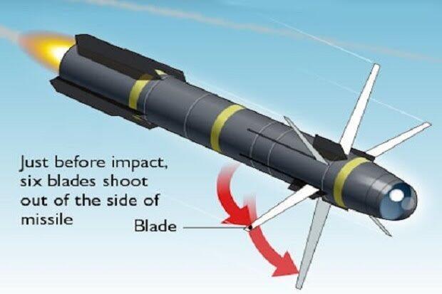 Hellfire R9X 'Flying Ginsu' - Inilah Rudal yang Mengeliminasi Target secara Sadis