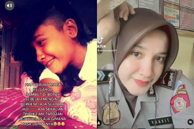 Sering Diremehkan Remaja Putri Ini Sukses Jadi Polisi, Stop Merendahkan Orang!
