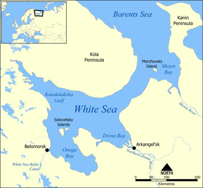 Laut Putih, Laut di Pesisir Utara Rusia Yang Sangat Jarang Diketahui Orang