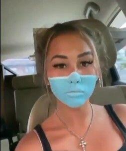 Viral Bule di Bali Tipu Satpam Supermarket Lukis Wajah Seperti Pakai Masker