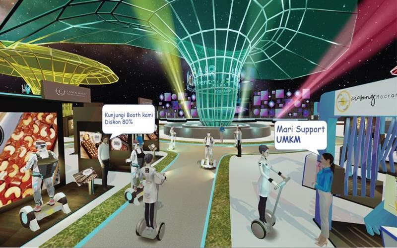 [ULASAN] Kami VV, Aplikasi Virtual Event Bergaya Game Simulasi