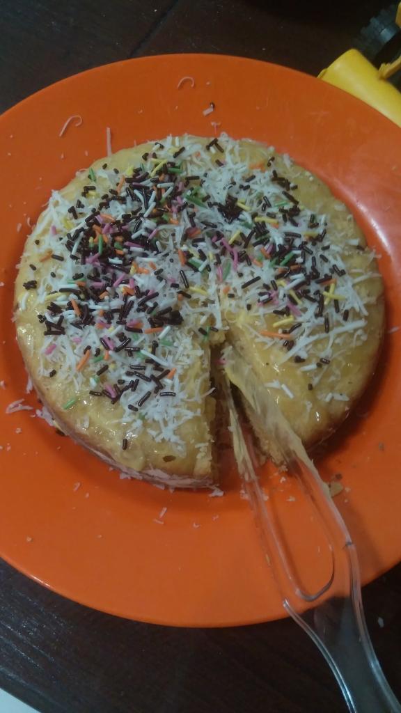 Membuat Bolu Tapai Sebagai Takjil dengan Rice Cooker Tanpa SP dan BP, Cek Hasilnya!