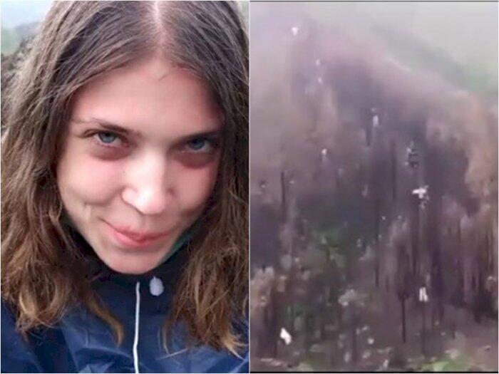 Model Bule Rusia Adegan Mesum Di Gunung Batur, Bikin Netizen Bali Meradang