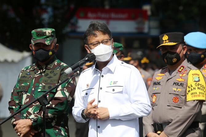 Kasus Covid-19 Merangkak Naik, Menkes: Indonesia Bisa Seperti India