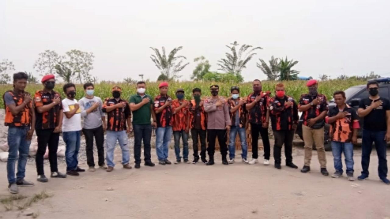 OKP Ciptakan Kamtibmas di Wilkum Polsek Percut Sei Tuan