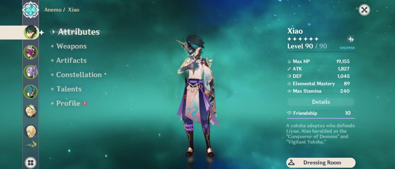 Tips Build Karakter Genshin Impact Xiao, Damage Gede Tanpa PJWS!!!