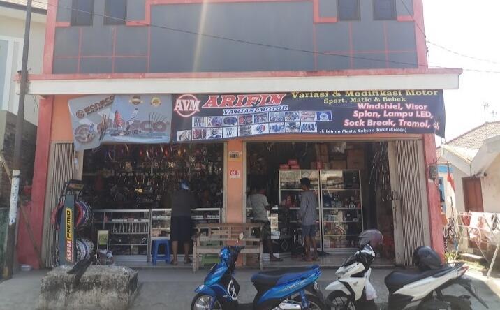 Arifin Variasi Motor Bangkalan, Siap Melayani Sepenuh Hati Para Pelanggan