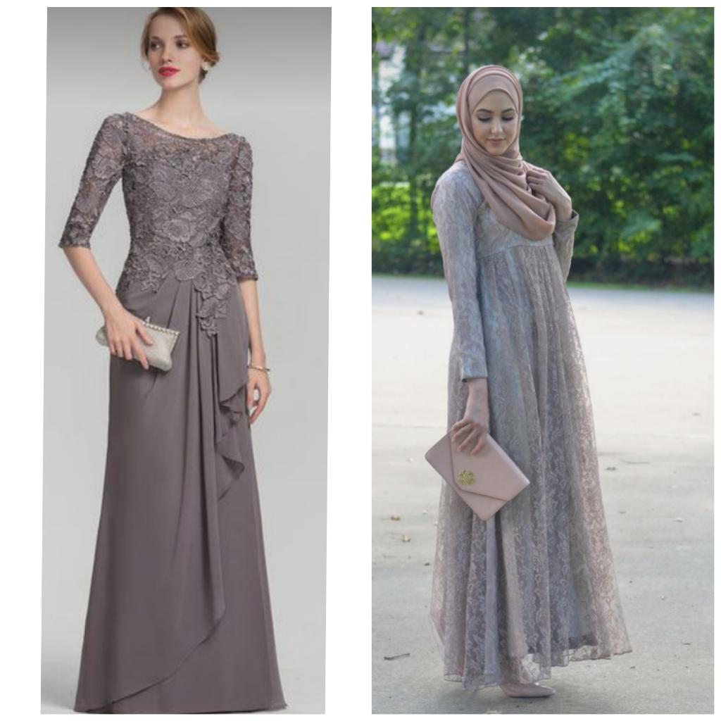 Rekomendasi Model Dan Jenis Dress Warna Abu-abu Untuk Lebaran, Cari Tau Yuk!