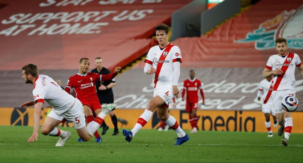 Akhirnya, Thiago Alcantara Cetak Gol untuk Liverpool di Premier League
