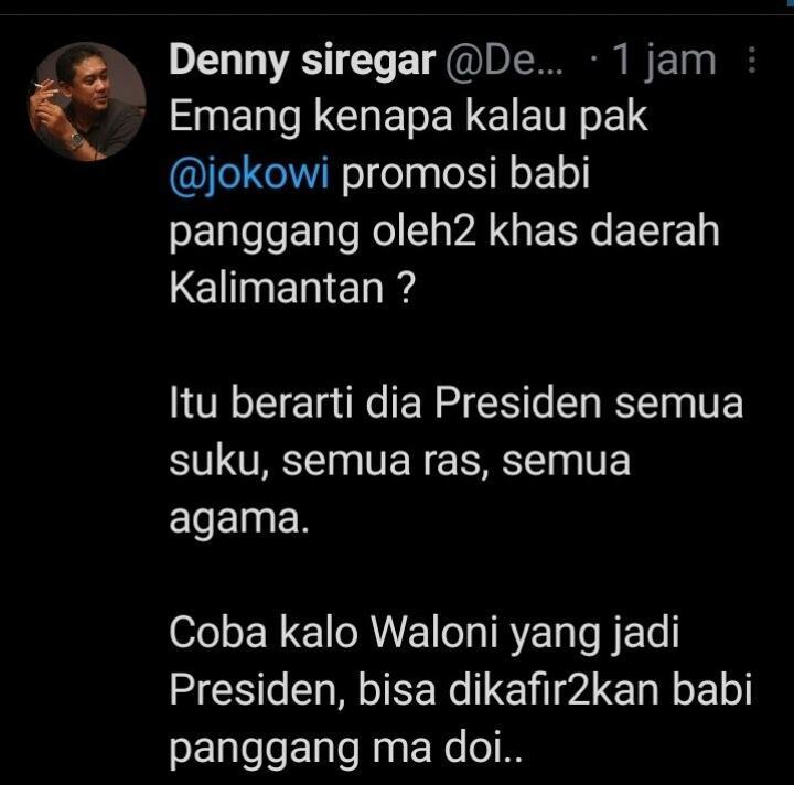 Ngabalin Bela Presiden soal Bipang: Jokowi Bapak Semua Agama