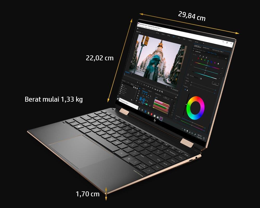 HP Spectre X360 14, Convertible Laptop Impian Ane dengan Desain Super Mewah !