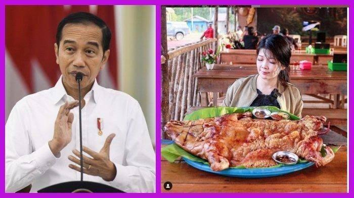 Babi Panggang Ambawang Menuai Polemik, Semua Gara-Gara Jokowi