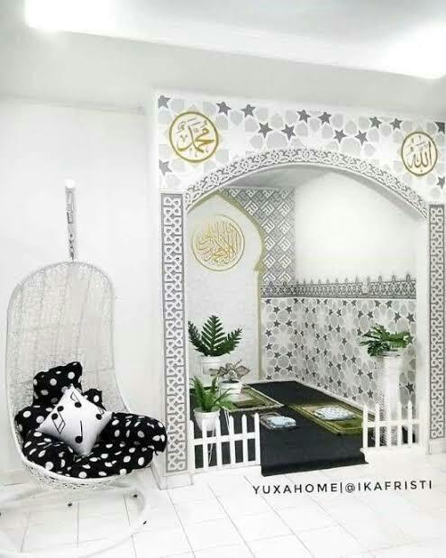 5 Desain Mushola Di Dalam Rumah