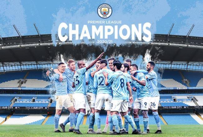 Man. City Berhasil Juara Liga Inggris 2020-21, Pep Guardiola: Musim Ini yang Tersulit