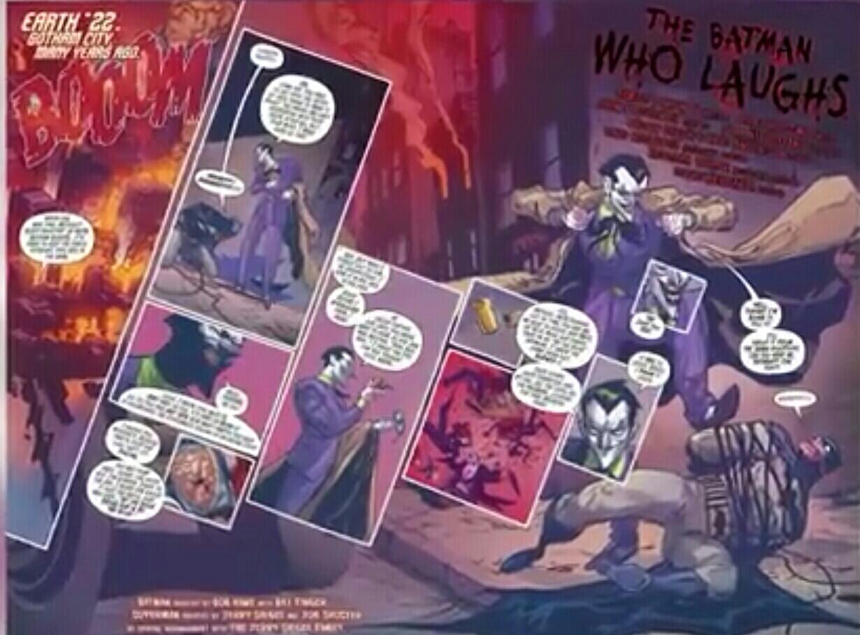 Siapa Itu The Batman Who Laughs Atau Batman Yang Tertawa?