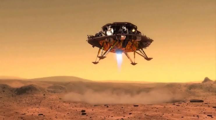 Cina Menjadi Negara Kedua Yang Berhasil Mendarat di Permukaan Mars Dengan Tianwen-1