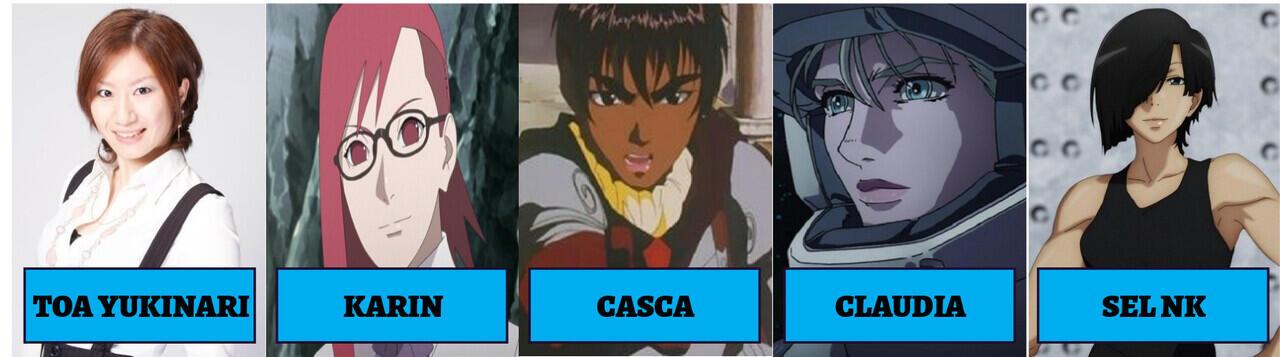 Inilah Para Seiyuu dari Tim Taka, Tim Kedua dari Uchiha Sasuke