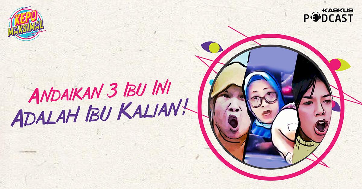 Video Ibu-Ibu Ngamuk Bikin Heboh, yang Mana Jagoanmu?