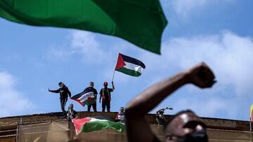 Kecam Israel! Ribuan Buruh Serbu Markas PBB-Kedubes AS