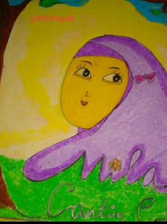 Menggambar Kartun Muslimah dengan Mudah dan Cepat Versi Ane