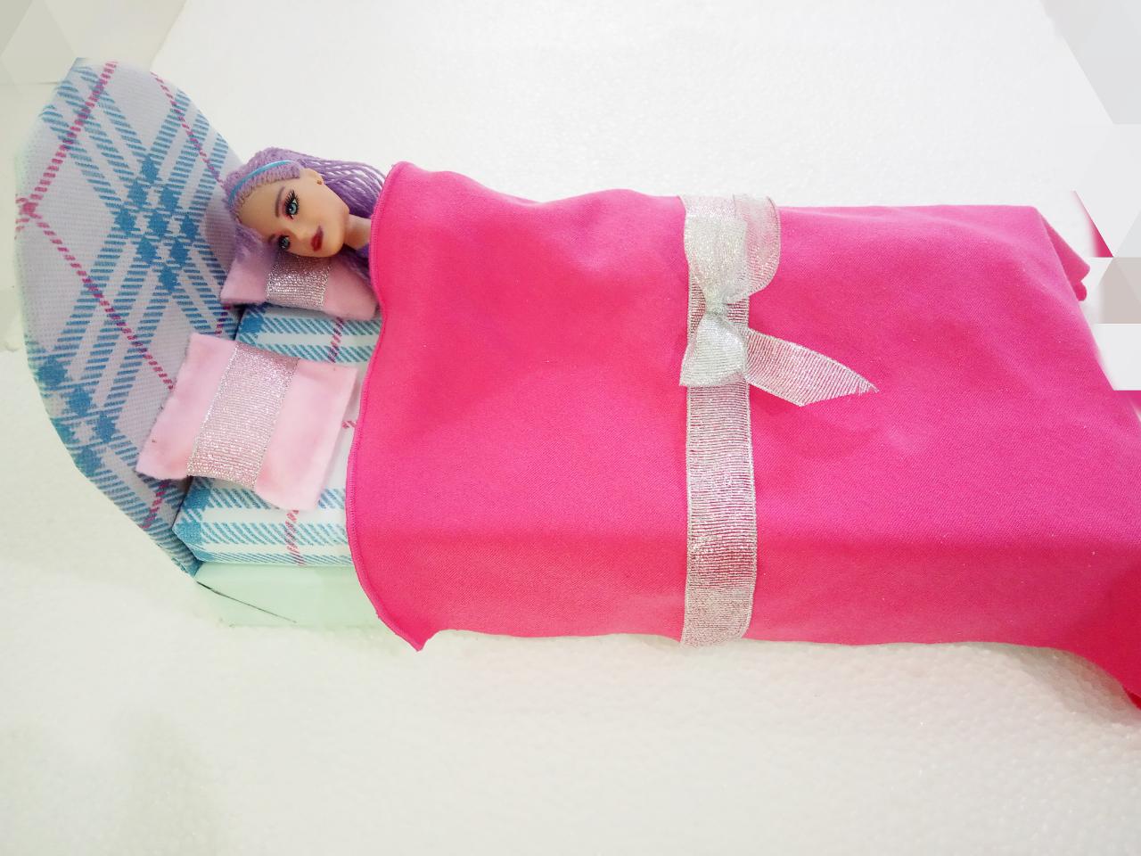 Membuat Tempat Tidur Berbie Dari Kardus dan Styrofoam Bekas ...