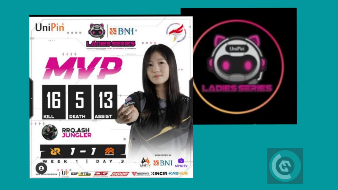 "Kenalan Dengan ""UniPin Ladies Series"", Ajang Esports Kaum Hawa Terbesar Di Indonesia"