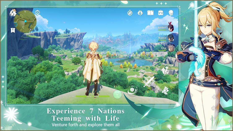 [Multi Platform] Genshin Impact - Come on, Traveler, let's go!