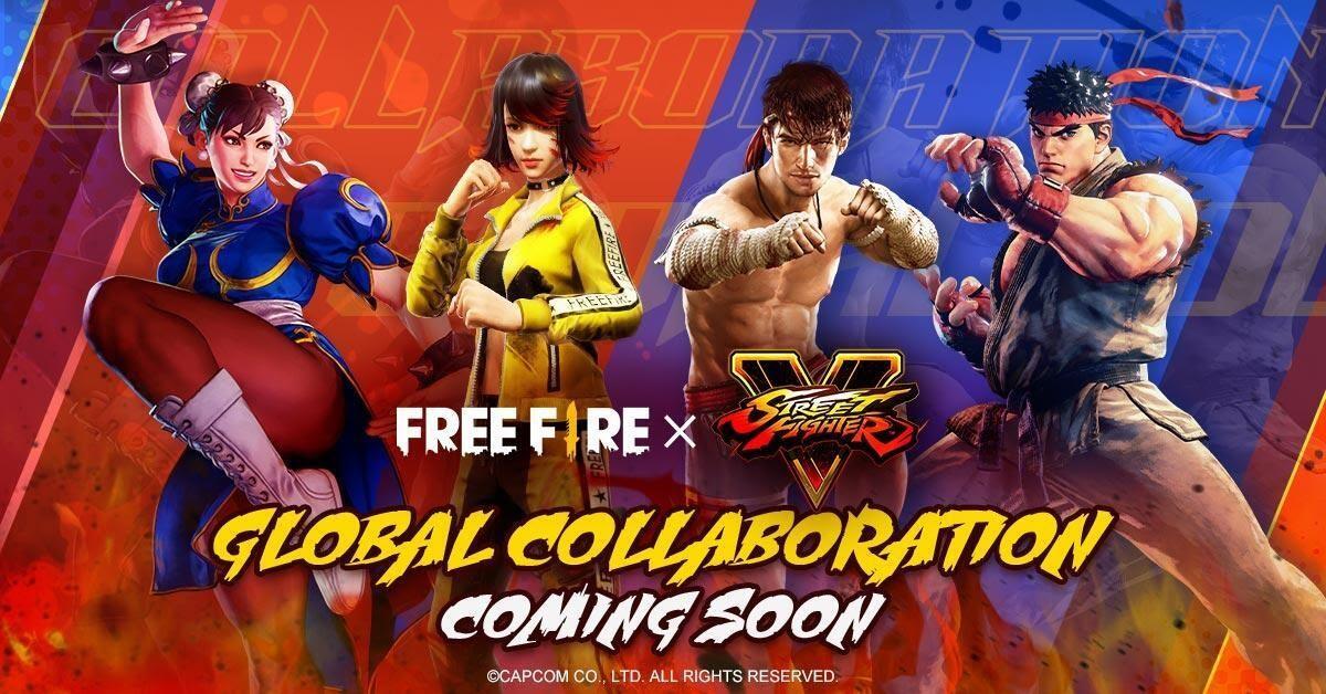 Kolaborasi FF x Street Fighter, Dijamin Bocil Bakalan Top Up!