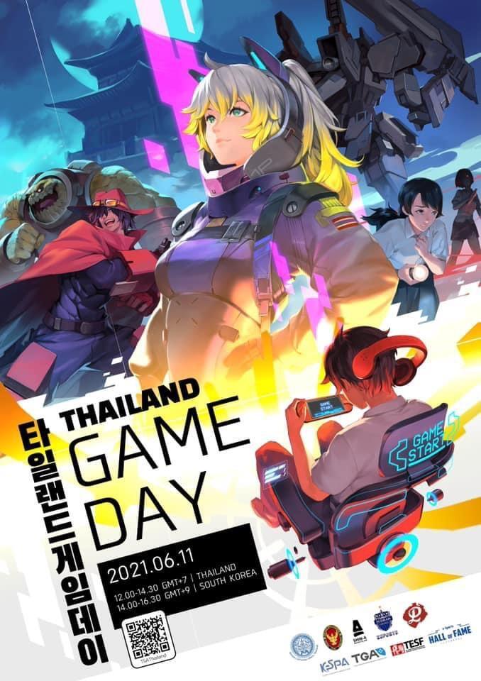 Thailand Game Day Sebuah Jembatan Industri Video Game Thailand Bersama Korea Selatan