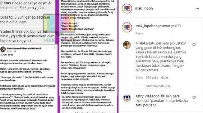 Aa Gym Cabut Berkas Perceraian dengan Teh Ninih, Anak Ungkap Fakta Berbeda