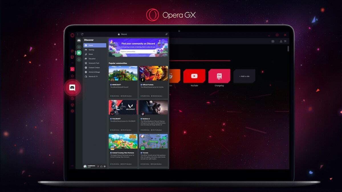 Chrome dan Firefox Aku Browser Paling Hebat Ngegame, Browser Opera GX: Ngaca Dulu Woi