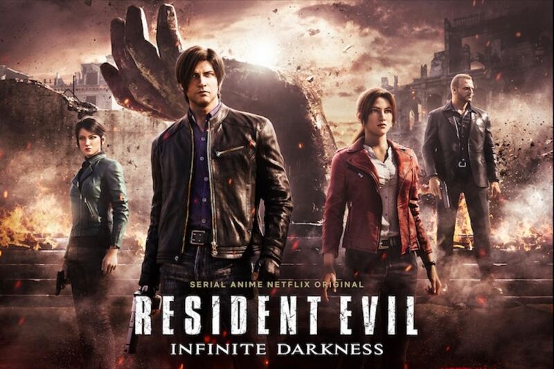 Resmi! Inilah Para Seiyuu dari Resident Evil Infinite Darkness