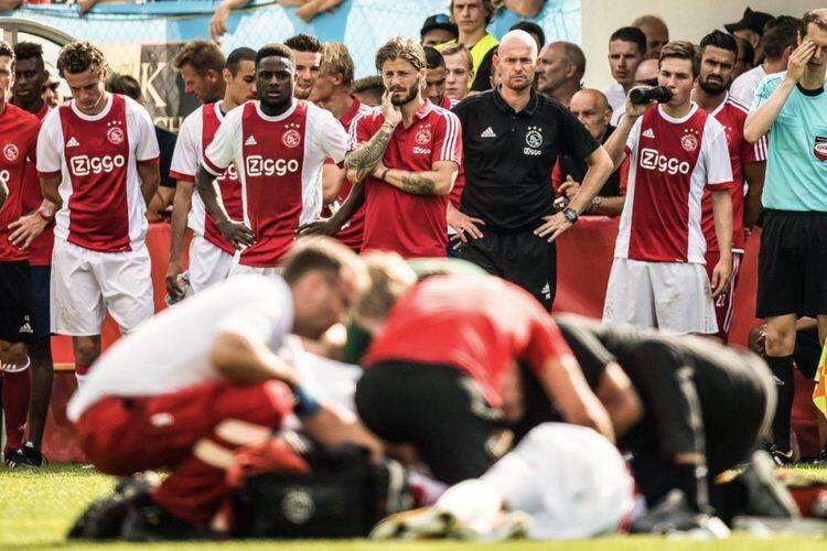 Tidak Ditangani Sebaik Eriksen, Ini Nasib Sedih Mantan Pemain Ajax Abdelhak Nouri