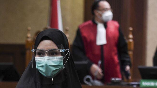 Jaksa Pinangki Dituntut 4 Th Bui, Hakim:Wanita Harus Dapat Perhatian dan Perlindungan
