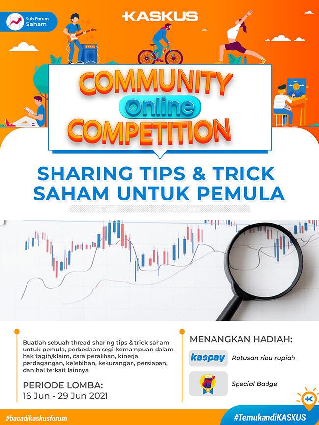 [COC]Sharing tips and trick saham untuk pemula