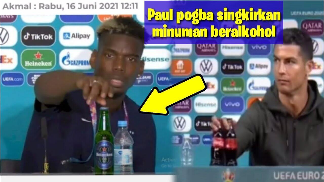 Kenapa Paul Pogba Singkirkan Heineken Ikuti Jejak CR7 Singkirkan Minuman Coca Cola!!
