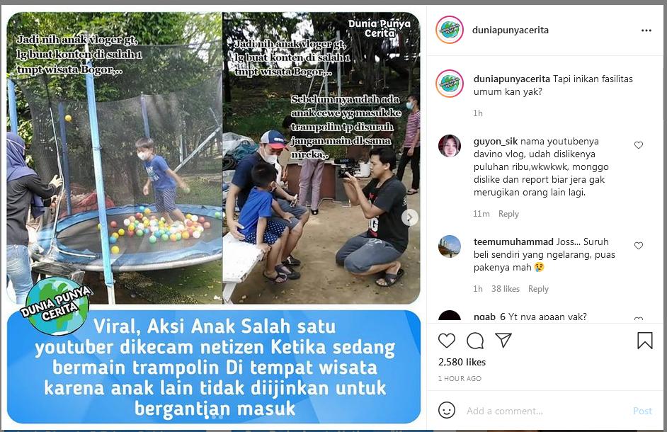 Youtuber ini bikin kesal netizen? karena apa?