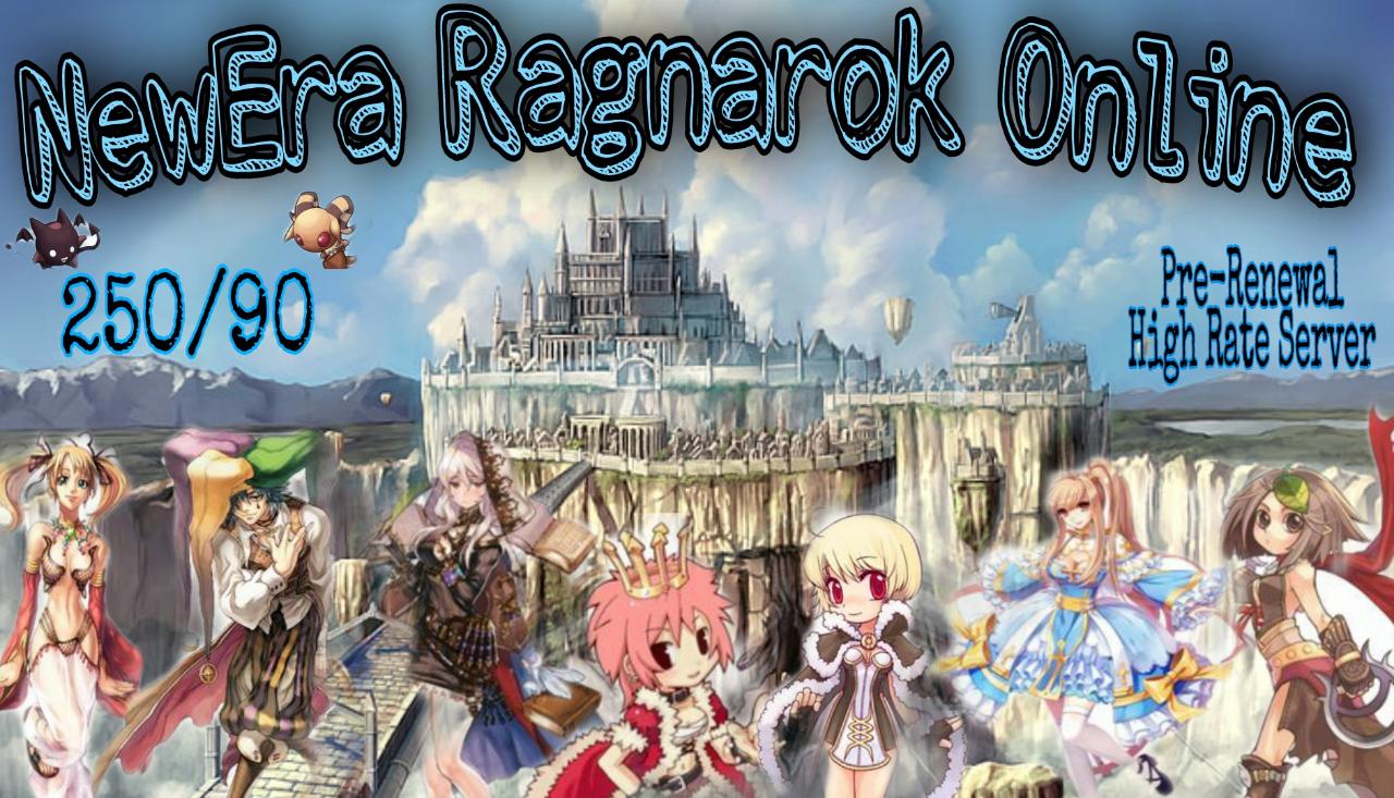 [OPEN 19 JUNE 2021 19:00 WIB NEW SERVER HIGH RATE 250/90] NewEra Ragnarok online