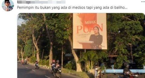 Sadis! Pasang Baliho di Berbagai Daerah,Puan Maharani Diyakini Tetap Kalah di Pilpres