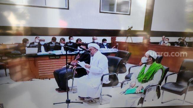Surat Jelang Vonis Habib Rizieq: Semoga Hakim Dikuatkan dari Godaan Jin Oligarki