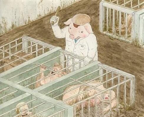 5 Ilustrasi Menohok Jika Hewan Jadi Manusia dan Manusia Jadi Hewan!
