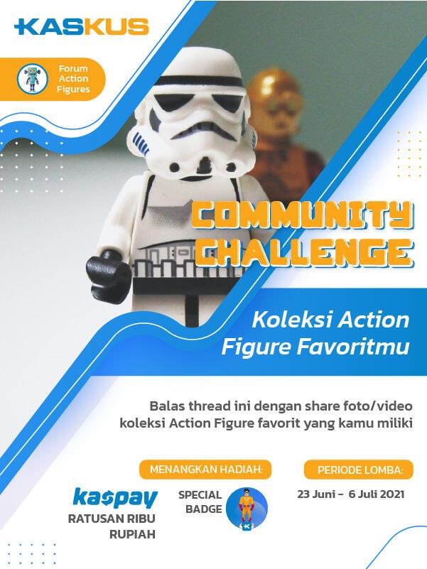 Koleksi Action Figur Yang Bisa Jadi Duit ? Disini Bisa!!